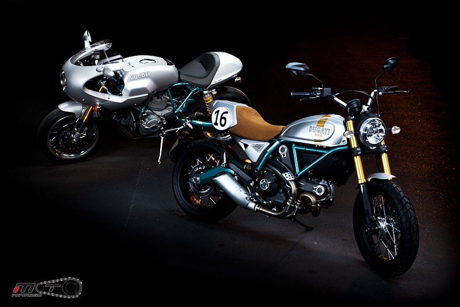 Sport Classic Paul Smart 1000LE & Ducati Scrambler Paul Smart Edition