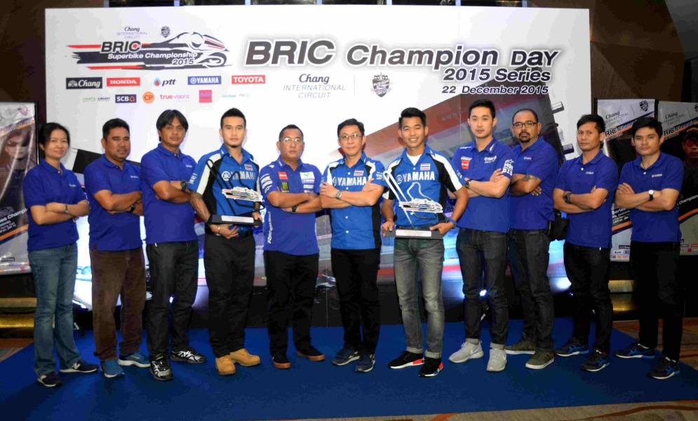 01 Yamaha Riders' Club Racing Team รับ 2 แชมป์