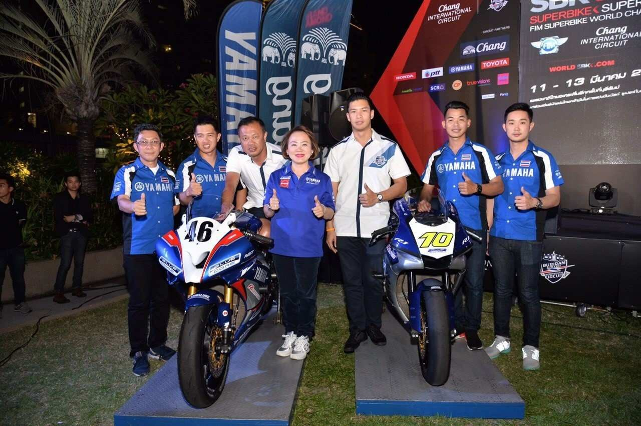 01 YAMAHA THAILAND RACING TEAM ส่ง 2 นักแข่งลงศึก FIM WORLD SUPERBIKE CHAMPIONSHIP 2016