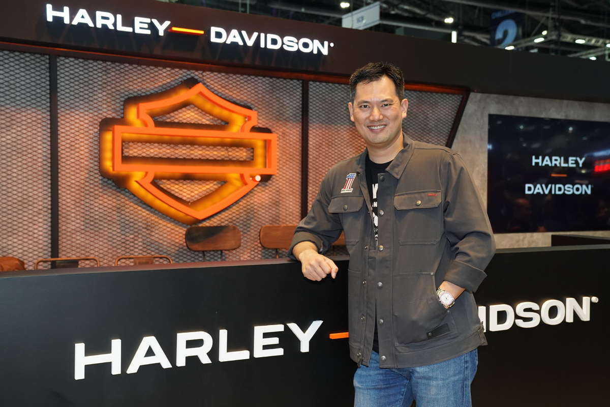 Mr. Mark Kulthol, Country Manager, Harley-Davidson Thailand
